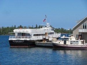 Isle Royale National Park: Arriving in Rock Harbor