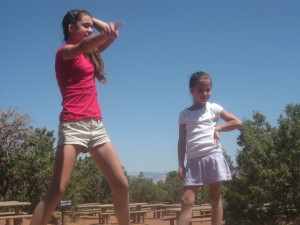 "Colorado Monument ""Dancing Show"""