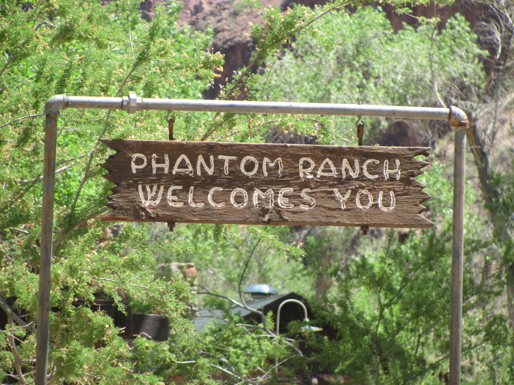 Grand Canyon Rim to Rim With Kids: Relaxing at Phantom Ranch