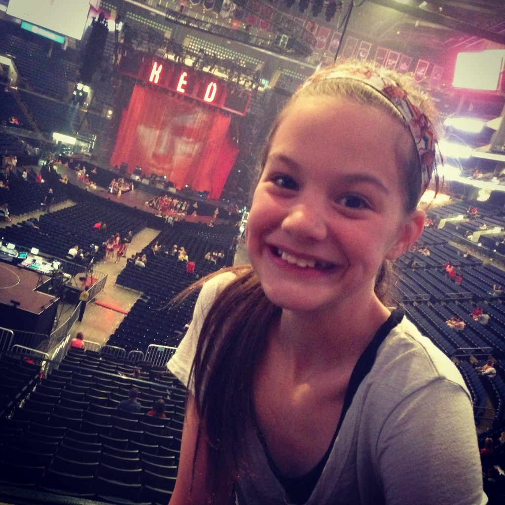 Maya's First Concert- Taylor Swift Red Concert @ Nationwide Arena