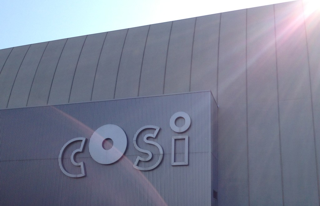 Visiting COSI-The Center of Science and Industry in Columbus