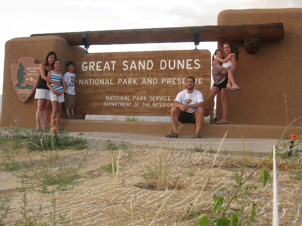 Great Sand Dunes National Park: Climbing the Dunes!