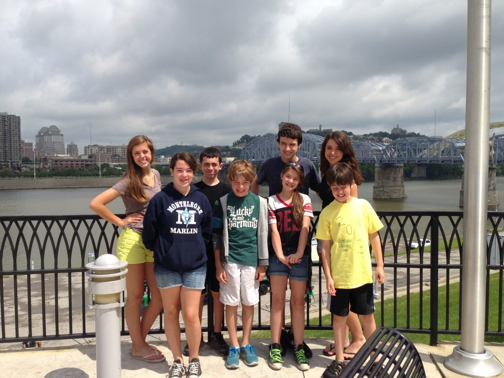 Walking Tour of Downtown Cincinnati