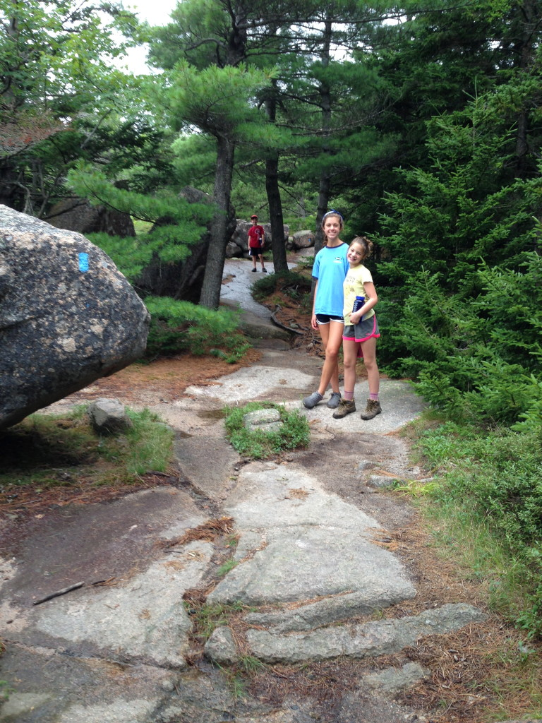 A Cold and Miserable Day: Climbing Cadillac Mountain in Acadia National Park