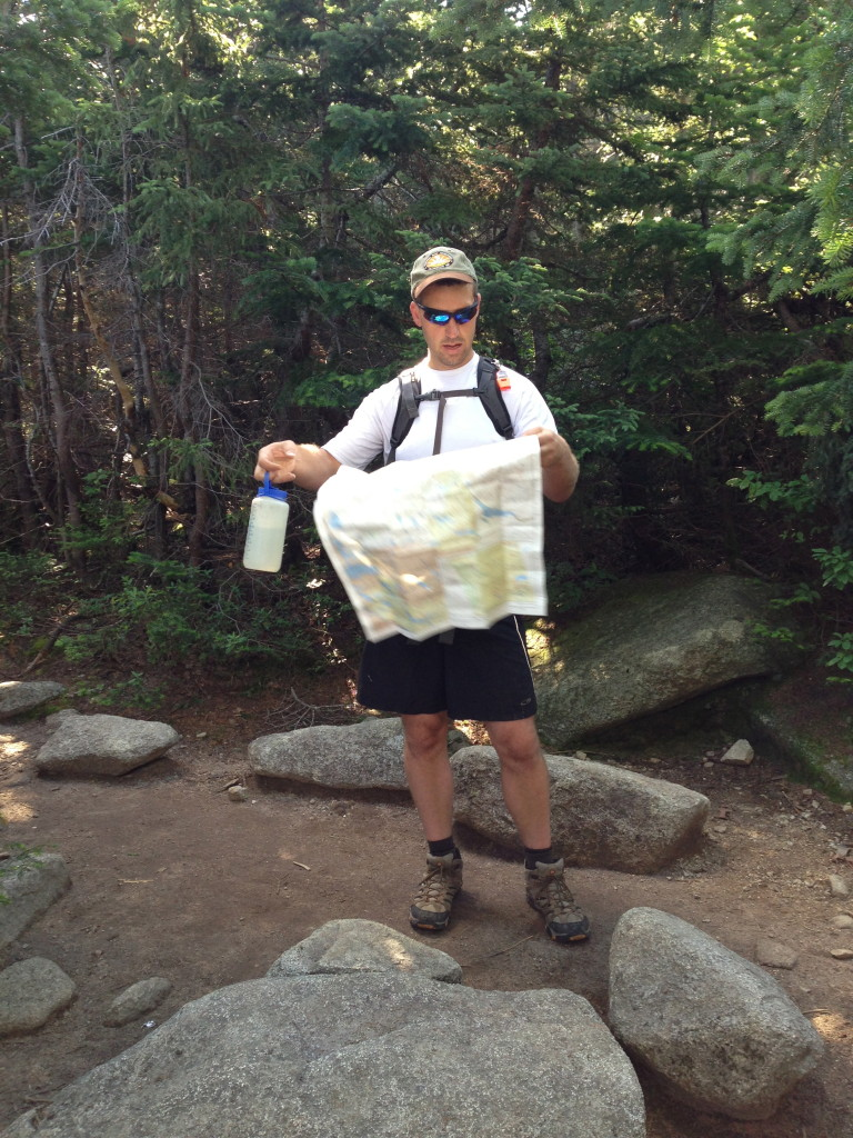 Family Backpacking Navigation