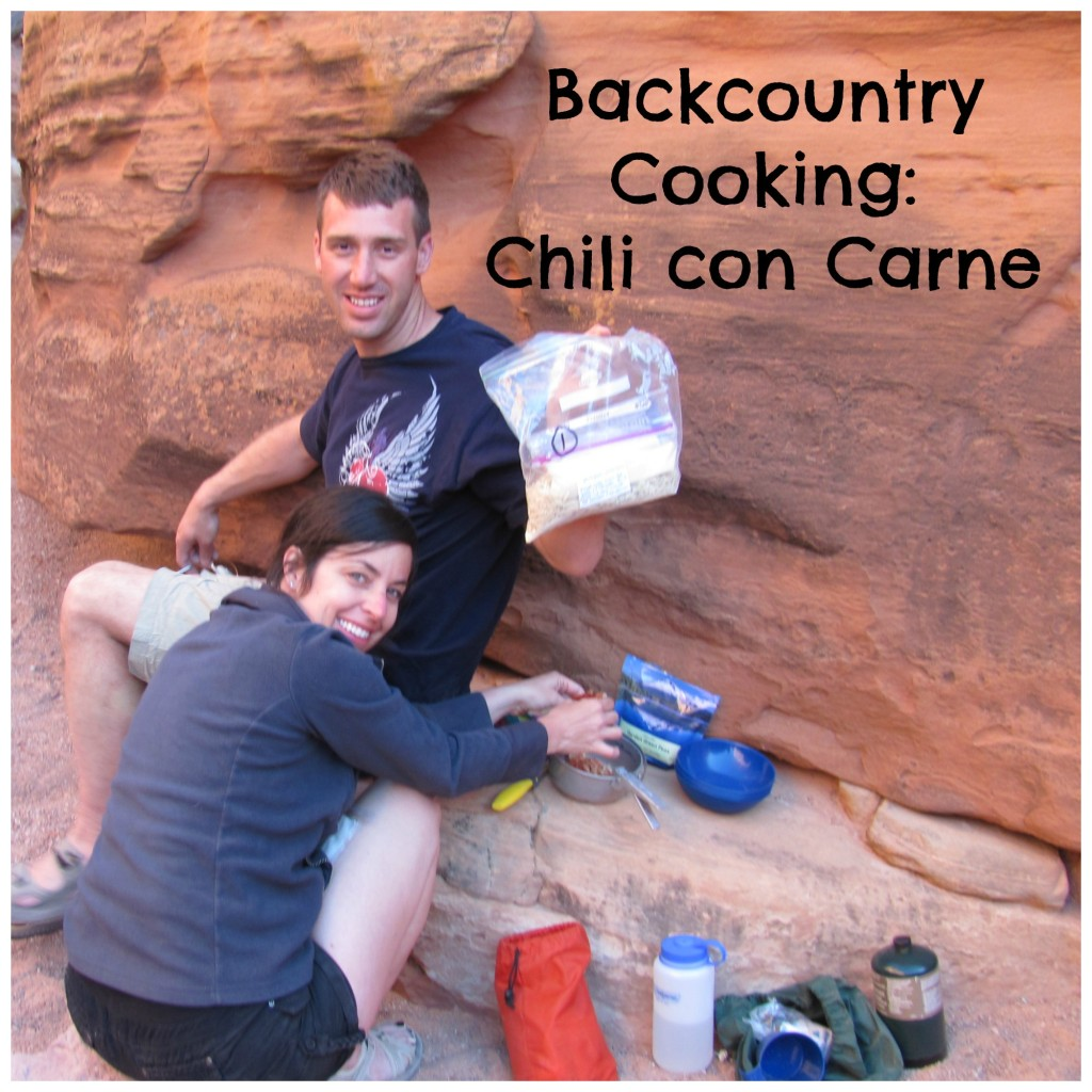 Backcountry Recipes: Chili Con Carne With Pan Fried Corn Cakes
