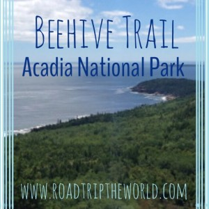 Hiking Beehive Loop Trail in Acadia National Park