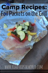 Foil Packets on the Grill: Camping Recipes