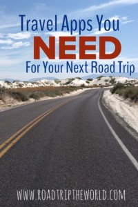 Road Trip Travel Apps You Need for Your Next Trip
