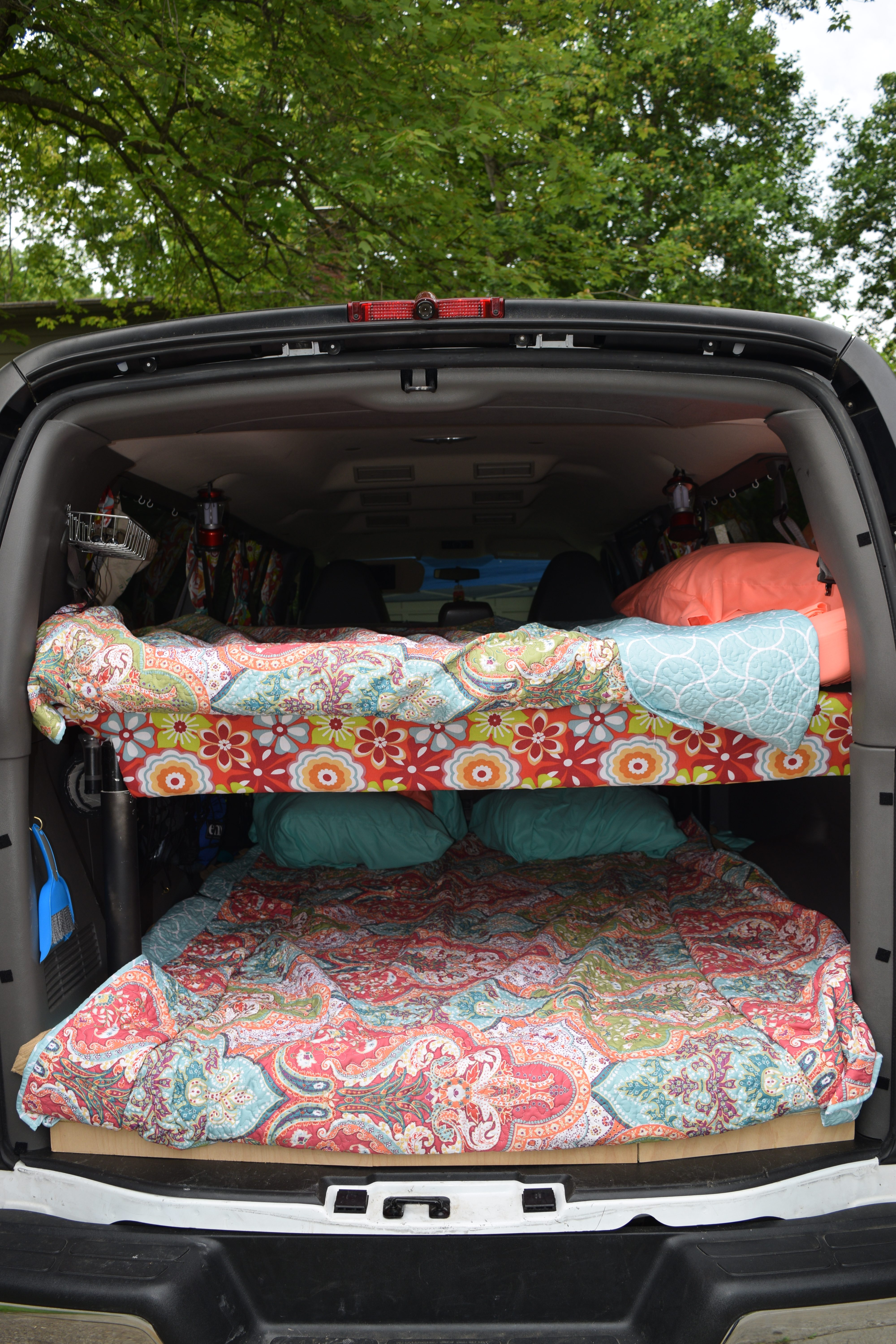 aa402f35667ac8 Building Bunk Beds in the Camper Van - Road Trip the World
