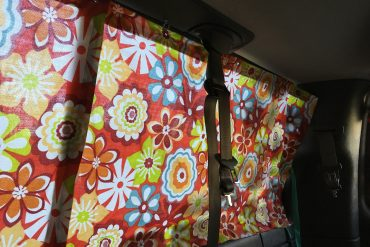 Making Camper Van Curtains